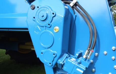 Hydraulisk motor gulvkjede