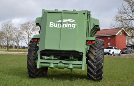 Tørrgjødselspreder Bunning Lowlander 75 med dekk: 580/70R38