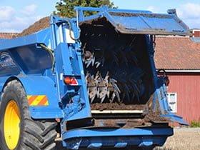 Tørrgjødselspreder Lowlander MK4 HBD