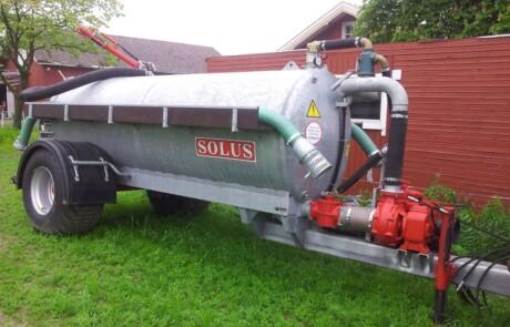 Slamsuger Solus ST6000 vakuum