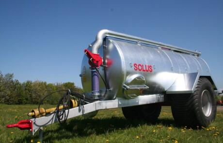 Gjødselvogn Solus GV12000 galvanisert