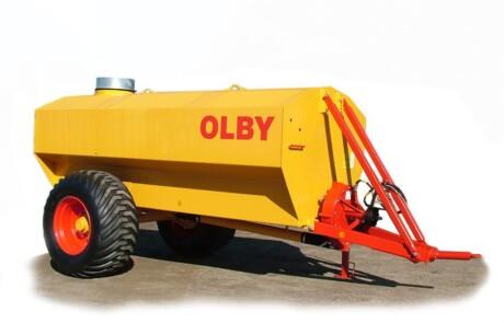 Olby gjødselvogner