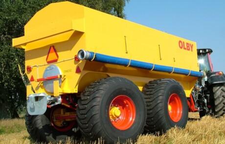 Olby gjødselvogner boggie