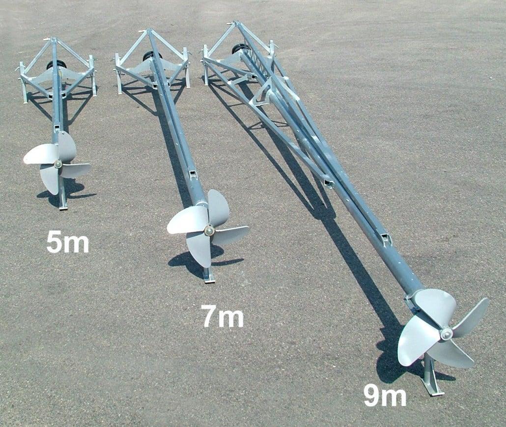 Gjødselmiksere tre modeller 5,7 og 9 meter