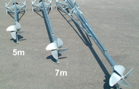 Gjødselmiksere tre modeller 5 - 7 og 9 meter