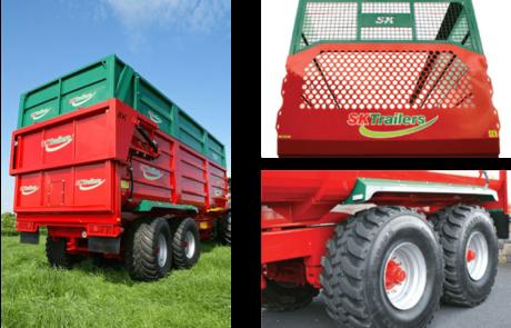Korn og Gresshengere standard utstyr