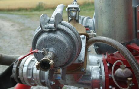"""4"""" PN16 3-veis ventil Inkl. 3-veisventil med innmating og returkontroll"""