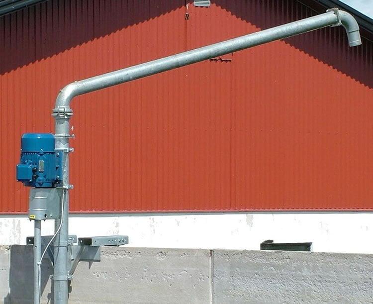 Gjødselspumpe GP 2000 – El-drevet – meget robust og pålitelig!