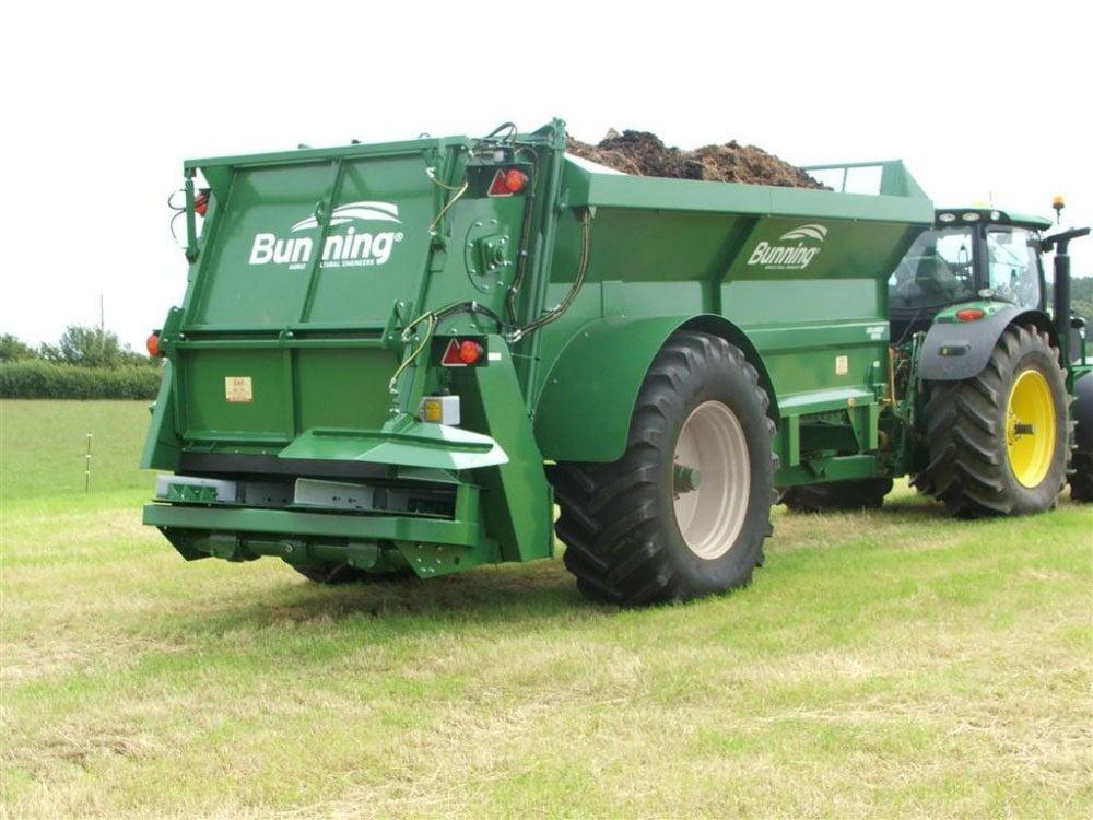 Tørrgjødselspreder Lowlander 150 HBD Mk2 HD