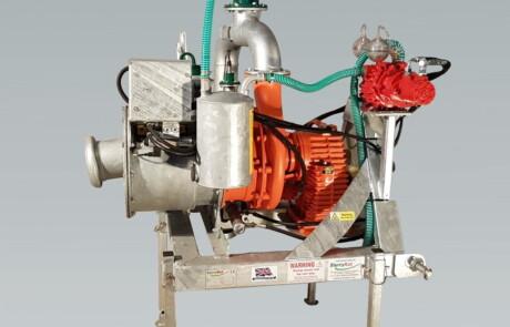 Gjødselpumpe doda HD35 med pressure system
