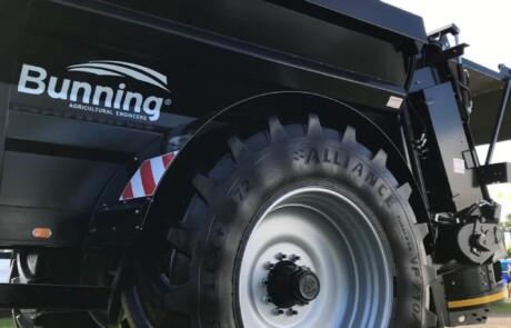 Gjødselvogn LL 105 HBD MK4 - Tørrgjødselspreder Store dekk alternativ: 710/70R42