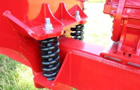 Gjødselvogn 9500L fjærende drag Slurrykat