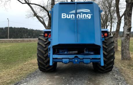 Gjødselvogn tørrgjødsel Bunning LL80 med 600 dekk