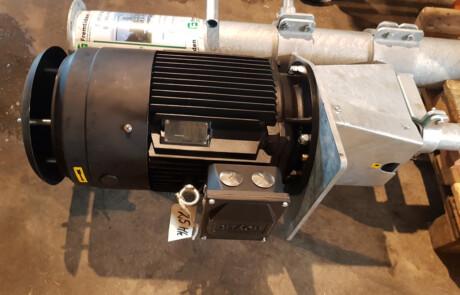 Stangpumpe for pumping av gjødsel - motor - Fremtiden