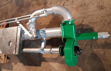 Stangpumpe for pumping av gjødsel - Fremtiden