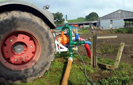 DODA pumpe med headland sikkerhetssystem SlurryKat