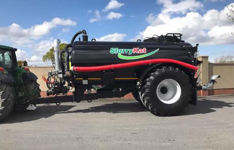 Gjødselvogn Panterra sort