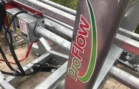 pto drevet galvanisert Proflow pumpe nærbilde av ramme - produsert av Slurrykat - Irland