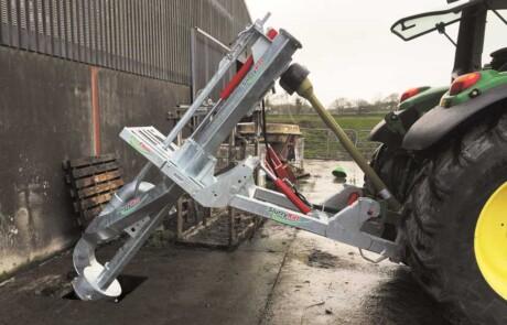 pto drevet galvanisert Proflow stangpumpe nedføring i gjødselkjeller - produsert av Slurrykat - Irland