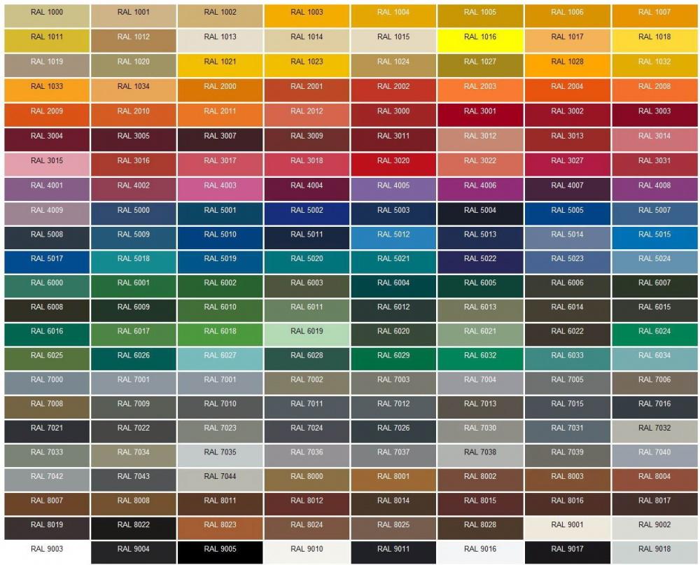 Ikke-standard farger