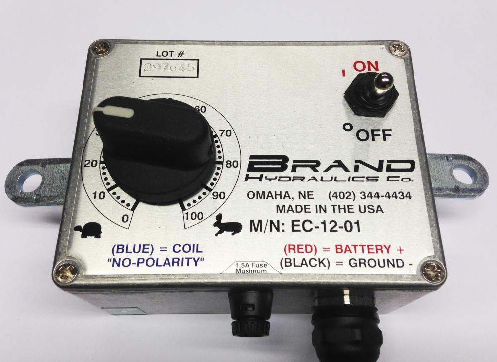 Elektrisk gulvhastighetskontroll