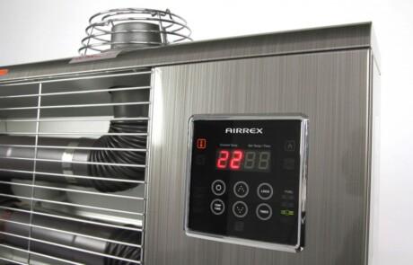 Airrex AH infravarmer display
