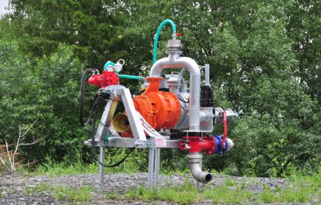Doda HD35 pumpe med pressure system
