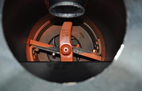Doda HD35 pumpe sett innenfra
