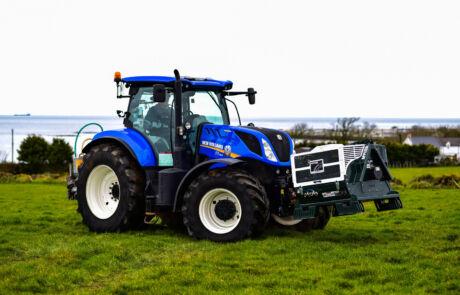 Applied Kompressor på traktor